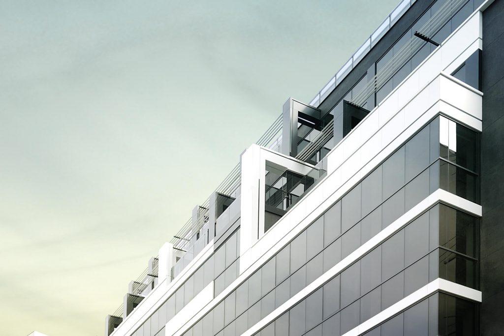 Business building Tetrix (Perla)