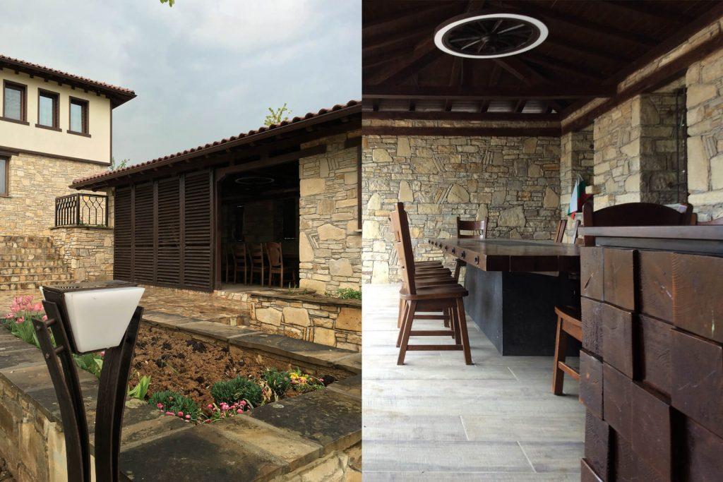 Градинско обзавеждане в традиционен български стил