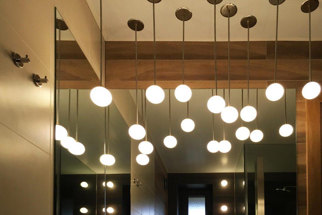 Дизайн на висящи лампи