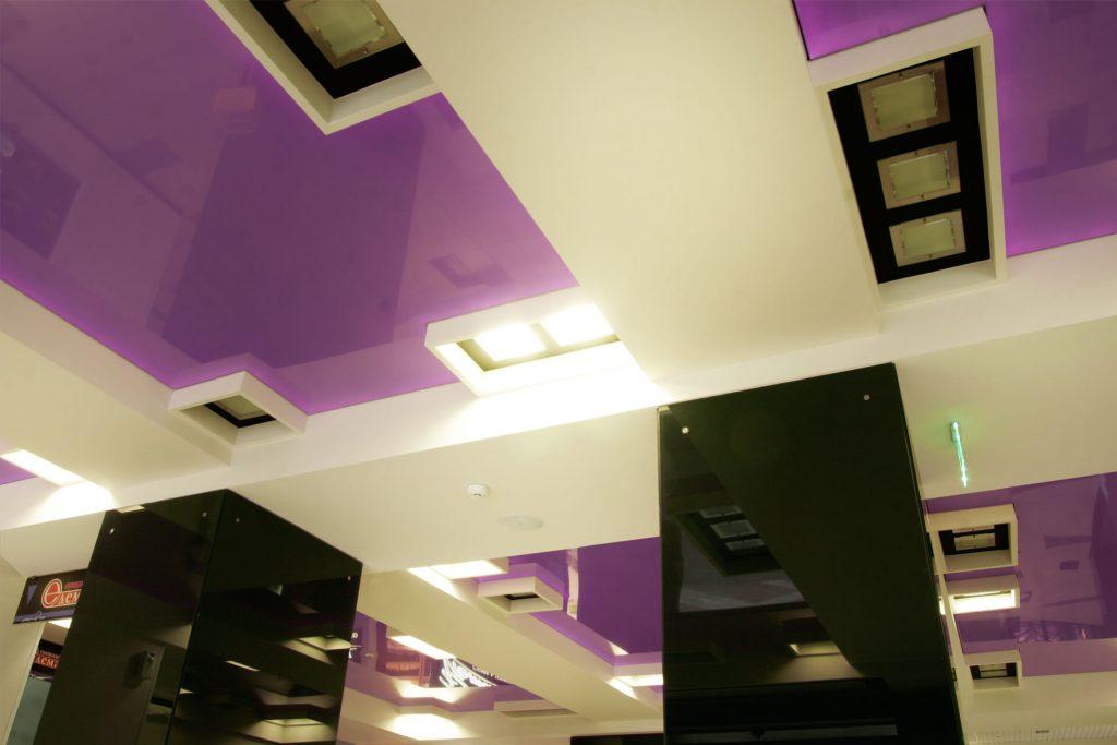 Опънат таван Barrisol, Central Mall Pleven