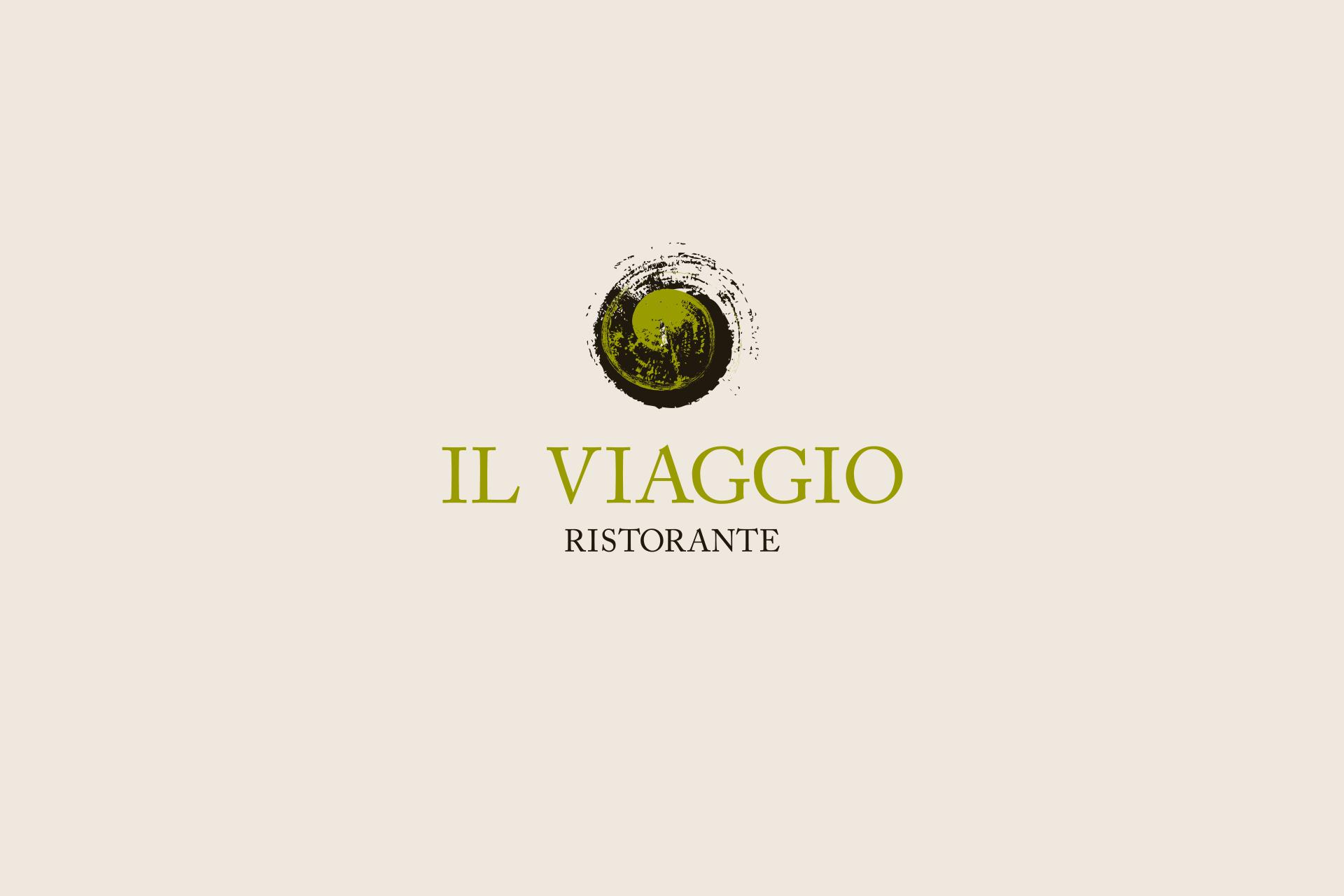 IL Viaggio Ristorante Лого дизайн и визуална комуникация на ресторант