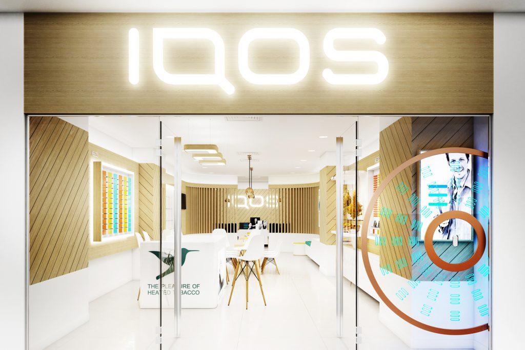 IQOS Showroom, Serdika Mall, Sofia.