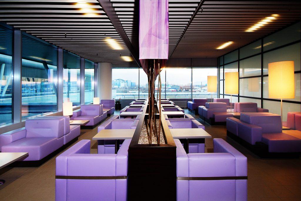 Sofia Airport interior design