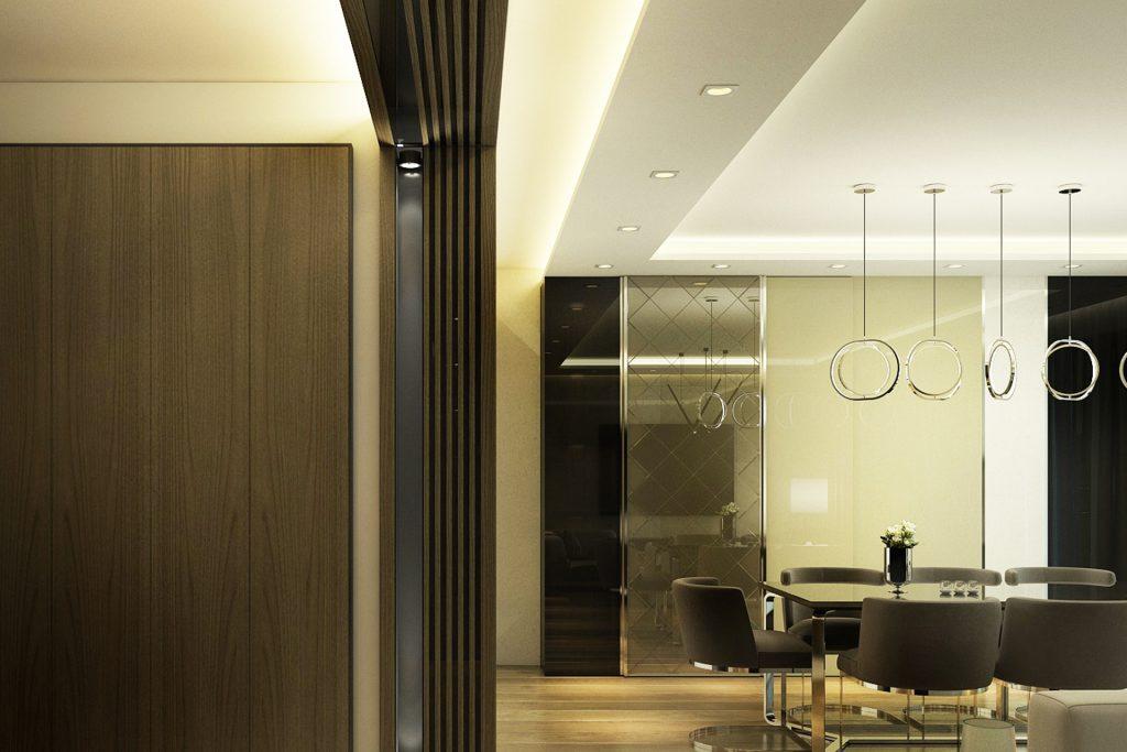Интериор на кухня в апартамент в Русе