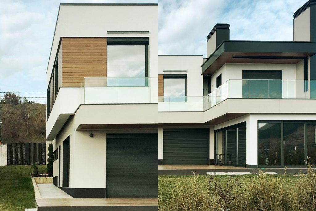 модерни къщи край софия