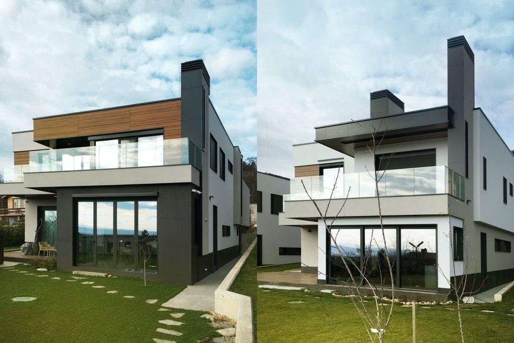 еднофамилни къщи архитектура